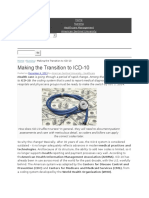 Making the Transition to ICD-10