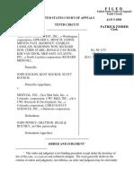 Med Safe Northwest v. Medvial, Inc., 10th Cir. (2001)