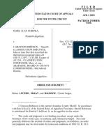 Strepka v. Robinson, 10th Cir. (2003)