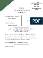 United States v. Cisneros, 328 F.3d 610, 10th Cir. (2003)