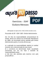 Exercicios adm administrativo
