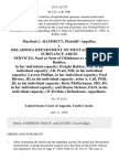 Maribob L. Hammett v. Oklahoma Department of Mental Health & Substance Abuse Services, Sued as State of Oklahoma Ex Rel Sharron Boehler, in Her Individual Capacity Dwight Holden, Md, in His Individual Capacity J.B. Pratt, Md, in His Individual Capacity Lavern Phillips, in Her Individual Capacity Paul Blevins, Jd, in His Individual Capacity John A. Call, Phd, Jd, in His Individual Capacity Betty Pfefferbaum, Md, Jd, in Her Individual Capacity and Duane Stebens, ed.d, in His Individual Capacity, (w.d.okla.), 153 F.3d 727, 10th Cir. (1998)