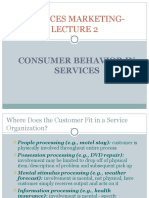 Consumer Behaviour in Services Lecture2