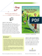 Where Are You Going, Baby Lincoln? Teachers' Guide