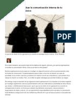 3 Modelos Para Evaluar La Comunicación Interna de Tu Negocio - Forbes México