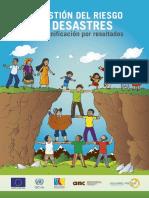 La gestión del riesgo de desastres en la planificación por resultados