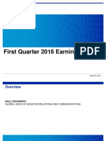 1Q16 Earnings Presentation