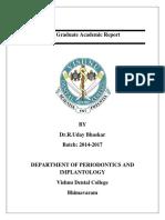 Post Graduate Academic Report Vion Final