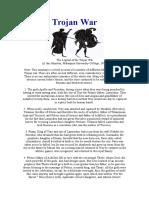 Greek Myths - Trojan War
