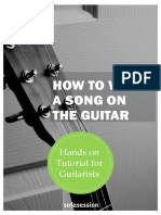 How to Write a Song on the Guitar Tutorial