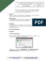 Procedimiento Alta de Productos y Elabroracion de Paquete en Sistema Adminpaq