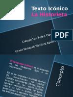 El texto Iconico - La Historieta.pptx
