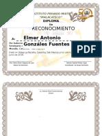 Diploma Reconocimiento