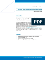 Atmel 2521 AVR Hardware Design Considerations ApplicationNote AVR042