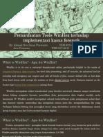 Pemanfaatan Tool Forensik WinHex Terhadap Implementasi Kasus Forensik
