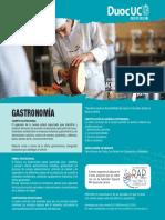 Tecnico en Gastronomía en Duoc Uc
