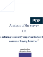 Factors Affecting Online Consumer Buying Behavior