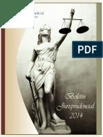 Boletín de Jurisprudencia 2014