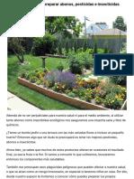 Te enseñamos como preparar abonos, pesticidas e insecticidas ecológicos | Diario Ecologia