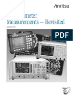 Reflectometer Measurements - Revisited