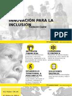 Innovación para la Inclusión por Juan Navarrete