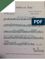 Mambo en Sax Trompetas