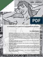 Representación de la mujer en el comic underground español