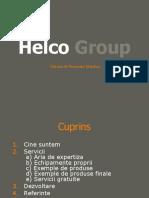 Prezentare Helco Productie - Prelucrare metalica