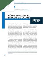Como Evaluar El Estado de La Justicia Pásara, Luís (2003).