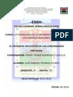 Comunidad Virtual PDF