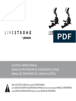 Livestrong Elliptical Owner's Manual - English_French_Spanish
