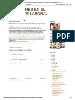 Adicciones en El Ambiente Laboral_ Preventox - Superintendencia de Riesgos Del Trabajo