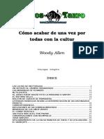 Woody Allen - Como Acabar De Una Vez Por Todas Con La Cultura.doc