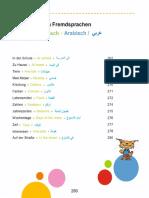 Bildwörterbuch Arabisch Deutsch Klein