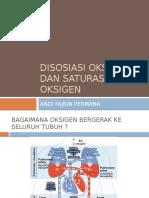 Disosiasi Oksigen Dan Saturasi Oksigen