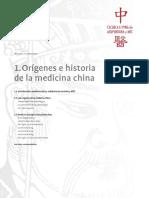 origines de medicina china