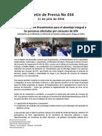 Boletín 034 Cauca Trabaja en Lineamientos Para El Abordaje Integral a Las Personas Afectadas Por Consumo de SPA
