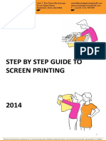 WPS Guide to Screen Printing 2014