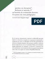 """Mayagoitia Penagos Laura Del Carmen.""""Capacitar, No Decapitar"""". La Reforma Al Artículo 3o en Materia de Evaluación Docente. Un Punto de Vista Pedagógico"""