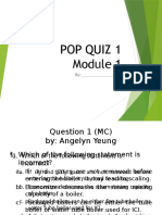 Green Boiler Technology - POP QUIZ 2