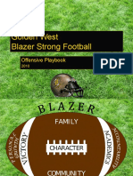 Golden West Offensive Playbook 2010-2011