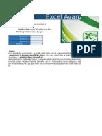 Excel Evaluacion
