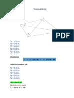 Trabajo Triangulacion