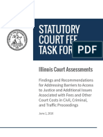 2016 Statutory Court Fee Task Force Report