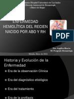 Enfermedad Hemolítica Del Recien Nacido Por Abo y Rh (2)