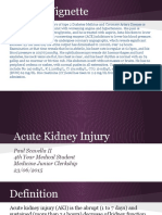 Acute Kidney Injury - Junior Medicine Clerkship
