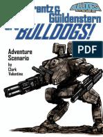 Rosencrantz & Guildenstern Are Bulldogs a Bulldogs Adventure Scenario