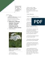 Listado de Especies de Demostrada Eficacia Como Hospedadoras y