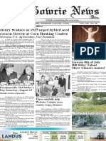 July 13th Gowrie News