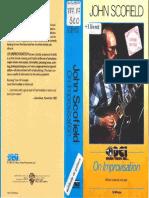 John Scofield on Improvisation (Booklet)